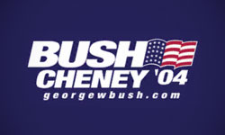 2004 Bush election logo