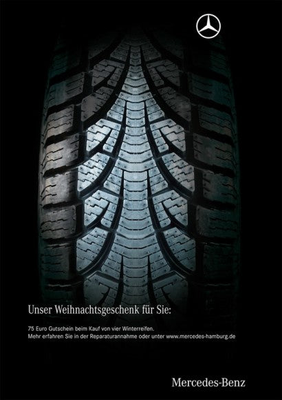 Mercedes christmas advertisement