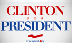 1992 Clinton election logo