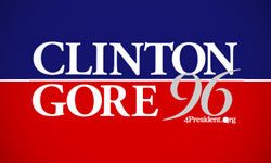 1996 Clinton election logo
