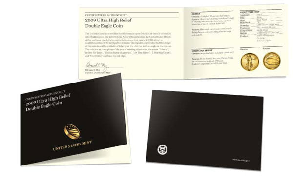 Packaging for US Mint 1