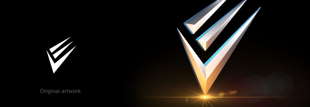 Empyreal Visuals logo by 3D logo Makers