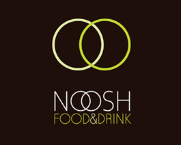 noosh food and drink restaurant logo