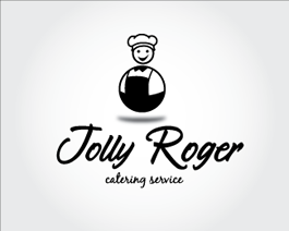 Jolly Roger catering logo design