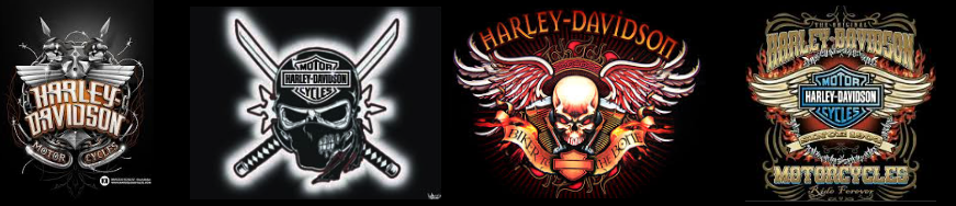 Cool Harley Davidson logo Fan Art