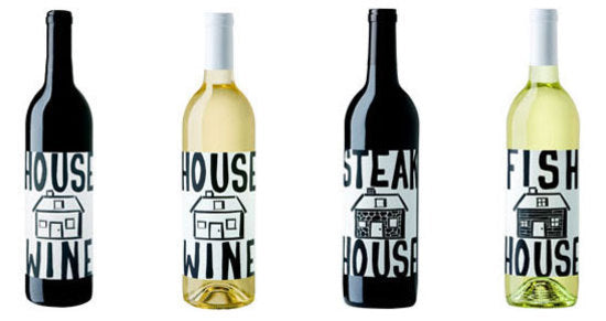 housewine labels
