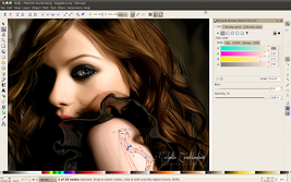 Screenshot of Inkscape 2