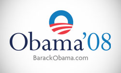 Obama 2008 presidential election logo