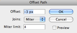 offset Path values