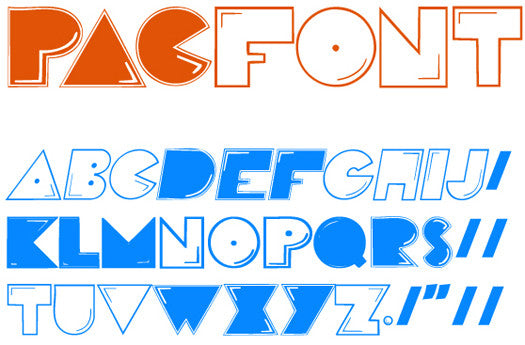 how to write in different fonts on paper