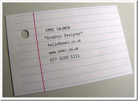 paper business-cards-design