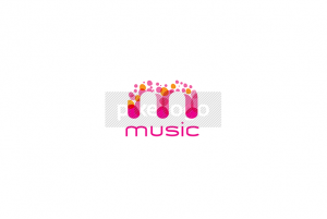 Affordable music logos by Pixellogo