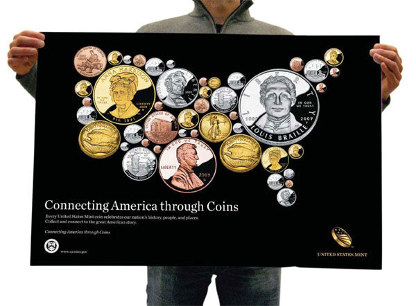 Poster With Slogan for the US Mint