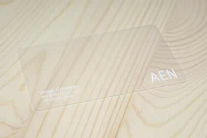 see through business-cards-design