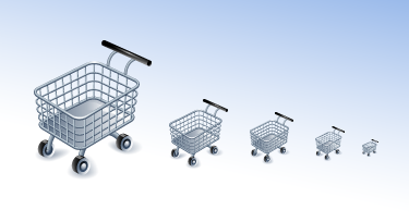 Shopping cart icons 2