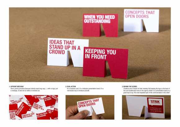 stand business cards