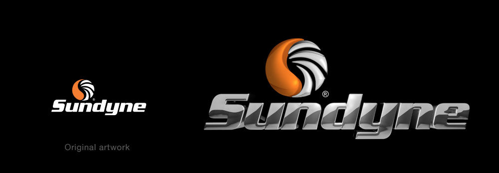 Sundyne logo 3D by 3D logo maker
