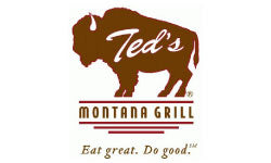 ted montanas grill logo design