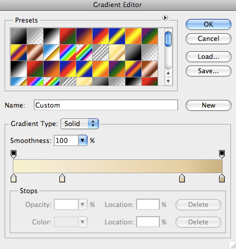 Photoshop Tutorial: text gradient