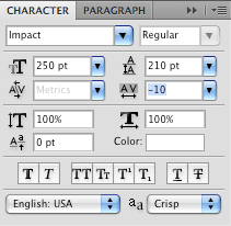 Photoshop Tutorial: text Values