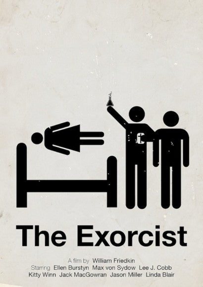 viktor hertz the exorcist poster