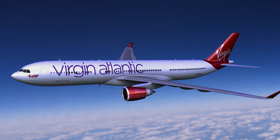 New Virgin Atlantic airplane