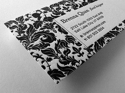 wallpaper business cards design
