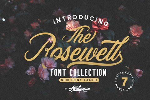 Rosewell Script Free Font