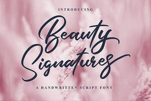 Beauty Signature Free Font