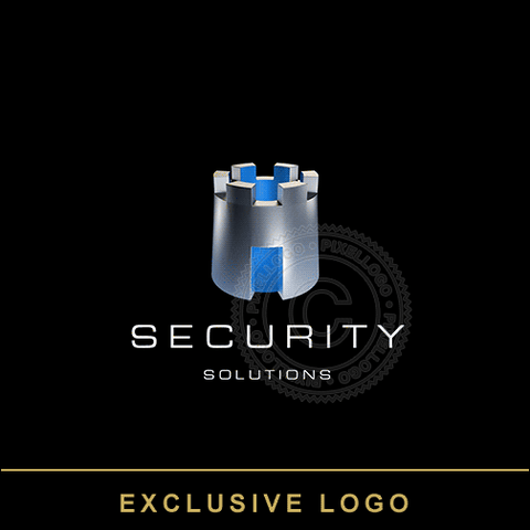 Identity Protection Solutions - 3D logo | Pixellogo