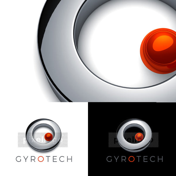Gyroscope Technology - Pixellogo