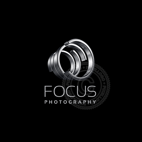 Zoom Photography - metal rings | Pixellogo