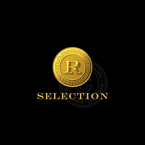 Gold Coin Luxury Shop logo - Pixellogo