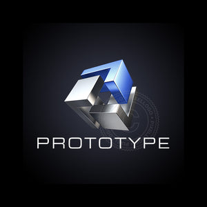 Prototype Engineering Logo - 3 metal pieces cube logo | Pixellogo