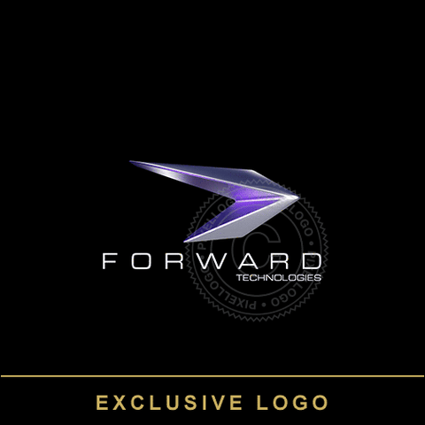 Silver Arrow 3D logo