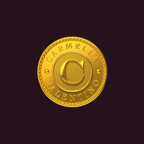 Personalized Gold Coin logo