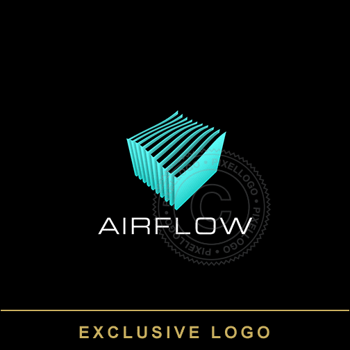 AirFlow Air Systems Logo - Air Conditioning solutions | Pixellogo