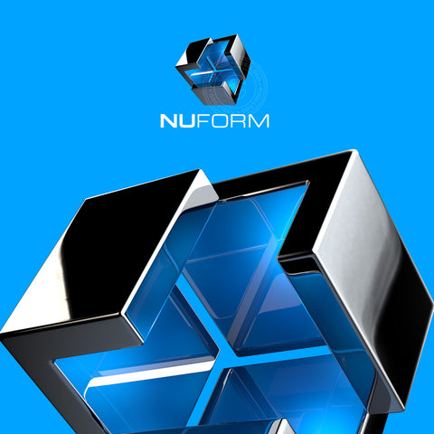 Nu Form 3D engineering Logo -  3D Cube logo | Pixellogo