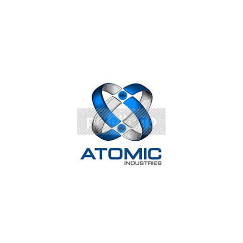 Atomic Global 3D Logo 3D-129 - Pixellogo