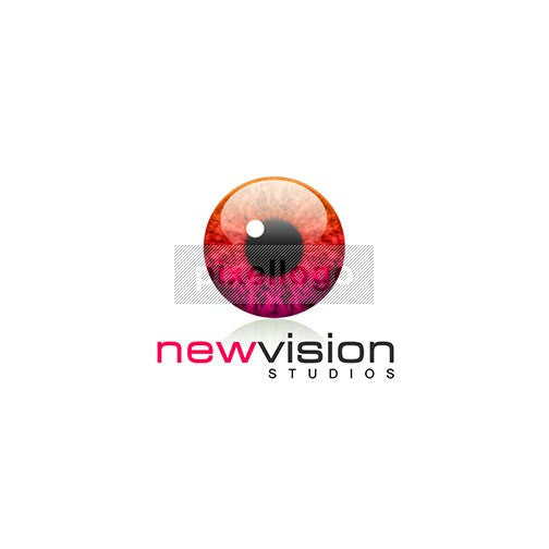 New Vision Studios 3D Eye Logo 3D-398