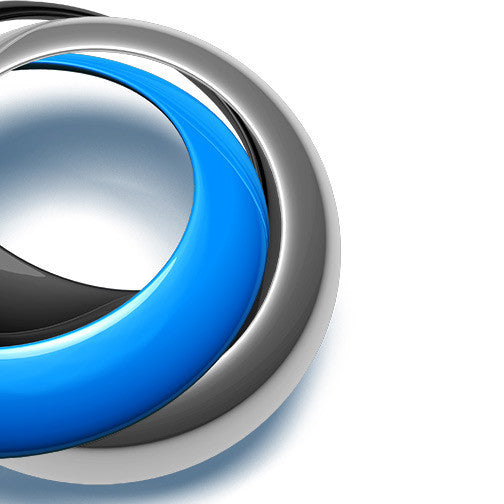 blue streaming logo 3D-970 - Pixellogo