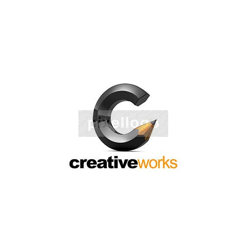 Creative Pencil 3D - Pixellogo