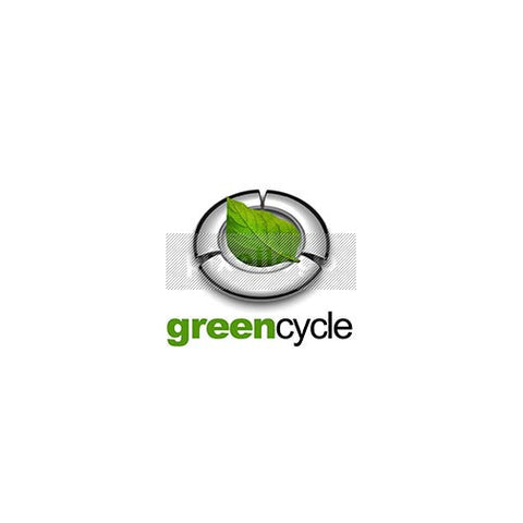 Greencycle 3D Green Leaf - Pixellogo