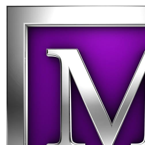 "Management Solutions Letter ""M"" 3D-3D Non Exclusive-Pixellogo"