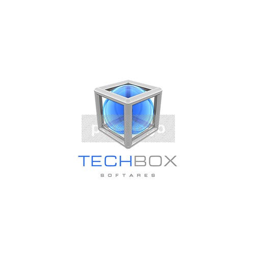Tech Box 3D Logo 3D-64 - pixellogo