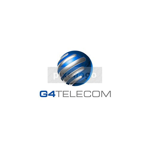 Globe Communication 3D Logo 3D-659 - Pixellogo