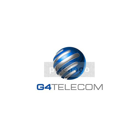 Globe Communication 3D - Pixellogo