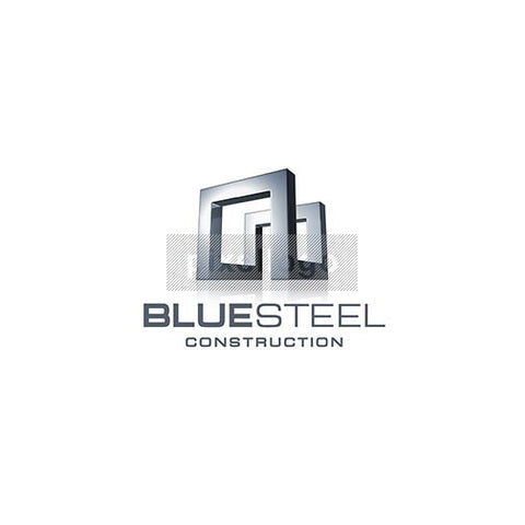 Blue Steel Engineering Industrial 3D Logo 3D-668 - Pixellogo