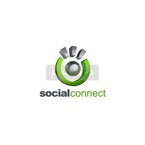 Social Connect Man 3D - Pixellogo