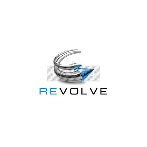 Revolve Recycle Arrow 3D Logo 3D-765 - pixellogo